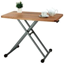 高さ調整が自由なリフティングテーブル リビングテーブル 昇降テーブル m006- クーポン除外品【QST-180】【2D】