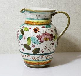 アンティークな イタリア製 陶器 花瓶 つぼ 置物【即納】【アウトレット/out】【QSM-100】【2D】