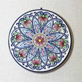 イタリア製壁掛け用絵皿陶器置物【即納】[G2]【アウトレット/out】【ne】