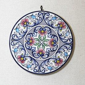イタリア製 壁掛け用 絵皿 陶器 置物【即納】【アウトレット/out】【QSM-60】【JG】