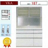 食器棚パモウナVKシリーズ下台引出タイプ幅120cmVKA-S1200R(奥行44.5cm)VKA-1200R(奥行50cm)【Point-10】【ik】地域限定開梱設置送料無料P10在庫有り