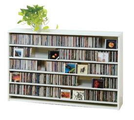 最大CD収納枚数695枚!最大DVD収納枚数180枚!ディスプレイしながら大量収納! 大容量 CDラック  幅139.2cm  t005-m135- cs695l 【メーカー直送】 【QSM-260】