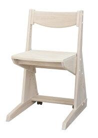 学習チェア ホワイトのみ 日本製 子供椅子 自然風塗料 木の温もりと環境に優しい学習椅子♪ 健康家具 シリーズ専用 学習机用[G2] t003-m054-pof-chwh【QSM-220】堀田木工 ポップ NチェアWH
