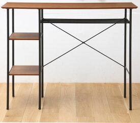 カウンターテーブル 机 バーテーブル 幅120cm 天然木 ウォールナット 【P10】【ポイント10倍】 t002-m048-atm-ktb 【メーカー直送】【QSM-180】【JG】
