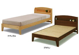 パイン無垢材 宮付き すのこ シングルベッド パイン無垢材  Sスノコベッド malspace malspace3(mal-)ベッド ベット BED GOK【sm】【QOG-60】 t006-m083-
