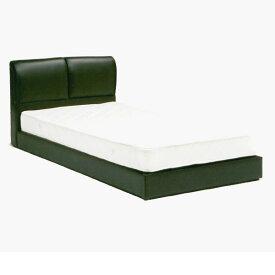 セミダブル ベッド フレームのみ レザーベッド ブラック PR1 ベッド ベット BED GMK-bedfrm 【QOG-60】【2D】