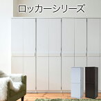 クローゼット洋服タンスロッカータンス幅60cmホワイト/ダークシステムロッカー衣類収納jk-frm0118