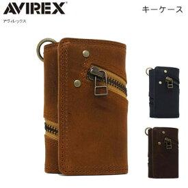 キーケース アヴィレックス AVIREX プルアップレザー 牛革 本革 ユニセックス メンズ レディース PR10 【QSM-100】
