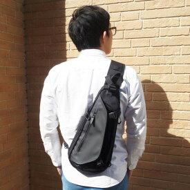 ボディバッグ misto forza ミストフォルツァ ボディーバッグ 背面バッグ 背中バッグ 正面バッグ 黒 紺 グレー 白 ブラック ネイビー ホワイト メンズ レディース ユニセックス PR10 ボデーバッグ ボディバッグ 斜め掛け 【QSM-100】