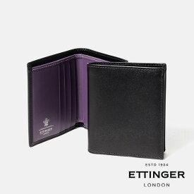 エッティンガー 2つ折り財布 BILLFOLD WITH 3 C/C & COIN PURSE ST975BJR ETTINGER 【送料無料】