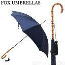 フォックスアンブレラ FOX UMBRELLAS レディース 雨傘 雨具 高級長傘 WL4/FrenchNavy 588 WHANGHEE CANE CROOK HANDLE…