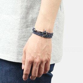 ミアンサイ Miansai マイアンサイ メンズ ブレスレット Bracelet Anchor on Rope Bracelet Silver - Indigo