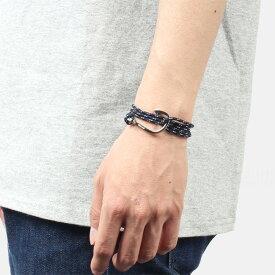 ミアンサイ Miansai マイアンサイ メンズ ブレスレット Bracelet Hook on Rope Bracelet Silver - Indigo
