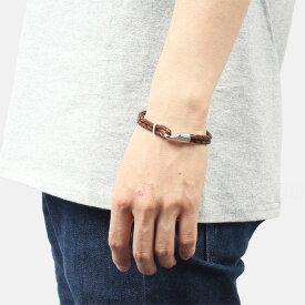 ミアンサイ Miansai マイアンサイ メンズ ブレスレット Bracelet Single Trice Sterling Silver, Brown