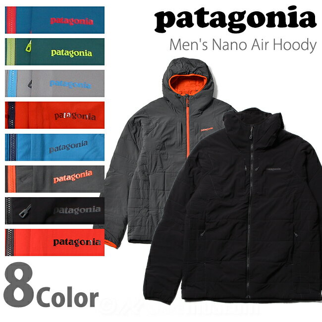 パタゴニア patagonia メンズ ナノエア フーディ Men's Nano Air Hoody 84260【送料無料】【値下げSale!!】