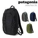 パタゴニア patagonia バッグ アトム パック 18L Atom Pack 48290
