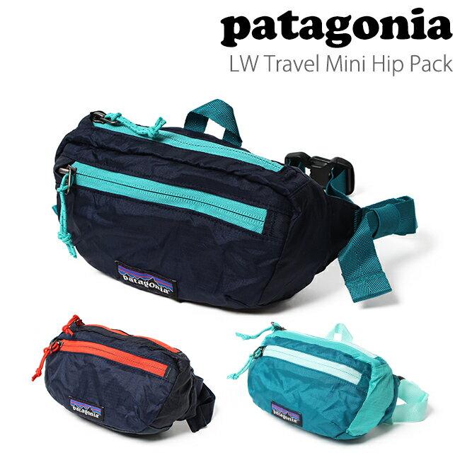 パタゴニア patagonia バッグ ライトウェイト トラベル ミニ ヒップ パック LW Travel Mini Hip Pack 1L 49446