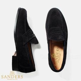 サンダース SANDERS メンズ 革靴 ビジネスシューズ ALDWYCH ブラック BLACK 8128BS【送料無料】【SHM-CAMP】