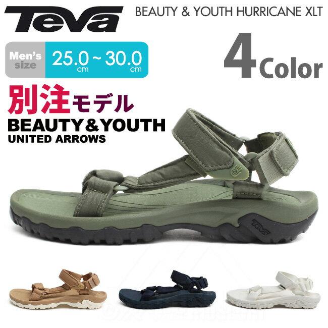 テバ Teva メンズサンダル ハリケーンXLT ビューティアンドユース別注モデル サンダル MEN'S HURRICANE XLT BEAUTY&YOUTH