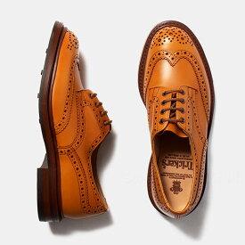 トリッカーズ Tricker's バートン ウイングチップ ブローグシューズ メンズ ダイナイトソール BOURTON ACORN 5633-38 レザー ブラウン 紳士靴 ビジネスシューズ 革靴 売れ筋【送料無料】