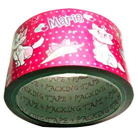 ディズニー おしゃれキャット マリー パッキングテープ/カラーテープ(ピンク/水玉)