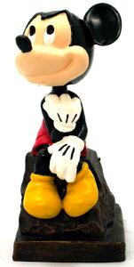 【ディズニー/Disney】ボビンヘッド(首振り人形)『考えるミッキー』アメリカ雑貨 アメ雑 アメリカン雑貨