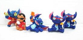 【ディズニー/Disney】リロ&スティッチ『フィギュア/5体セット』アメキャラ キャラクター 置物 ディスプレイ フィギュア コレクション エイリアン