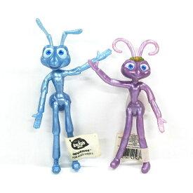【バグズライフ/Bug's Life】『ベンダブルドール フリック&アッタ姫』アメキャラ アメリカン雑貨 アメリカ雑貨 ディズニー disney