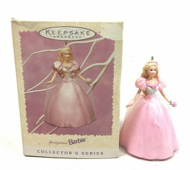 【Barbie バービー】 オーナメント 『1996 EASTER COLLECTION』 ホールマーク Hallmark springtimeBarbie スプリングタイムバービー