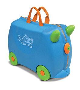 TRUNKI トランキ TERRANCE Blue (ブルー) 英国発!ポップでキュートなお子様サイズのスーツケース キャリーバック 旅行 トラベル キッズ おもちゃ箱 ファンシー かわいい