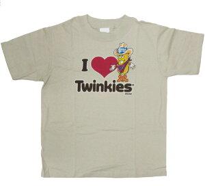 〇【 Twinkies トゥインキー】『 I LOVE Twinkies キッズ Tシャツ 』アメキャラ アメコミ アメリカン雑貨 アメリカ雑貨 アメ雑 ファッション ソーセージパーティー かわいい ファンシー 半袖 kids こ