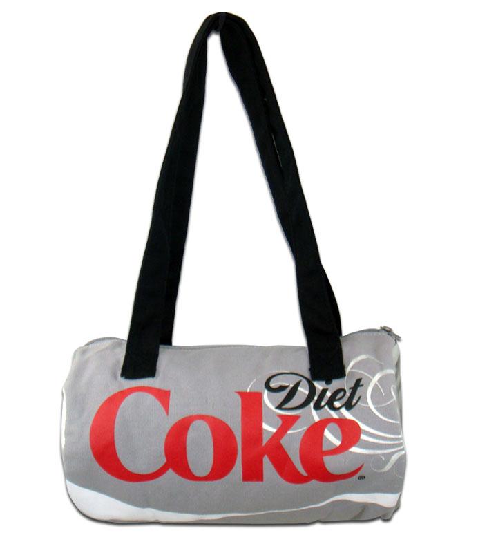 ◎【Coca・Cola/コカコーラ】 缶型 ダッフルバッグ・ショルダーバッグ 【Diet Coke】 アメリカン雑貨・アメリカ雑貨・アメ雑