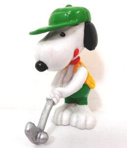 【スヌーピー/Snoopy】『スヌーピー PVCフィギュア /ゴルフ』・アメキャラ・ピーナッツ・peanuts・スポーツ