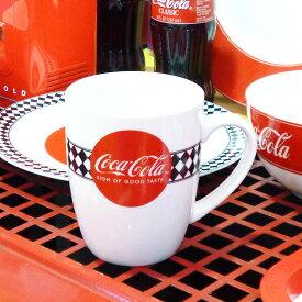【Coca・Cola/コカ・コーラ】 マグカップ『60s Diner』(355ml)コカコーラ・Coke アメリカ雑貨・アメ雑・アメリカン雑貨・Coca-Cola・コカコーラグッズ