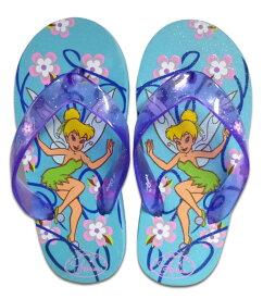 【Disney】ディズニー ティンカー・ベル ガールズ(女の子) ビーチサンダル 潮干狩り・川遊び・海水浴・砂浜・ビーチ