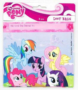 【マイリトルポニー/My Little Pony】『LOOT BAGS』ビニールバッグ・MLP・ポニー・アメキャラ・アメリカン雑貨