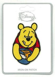 【ディズニー/Disney】ワッペン・パッチ『くまのプーさん はちみつ』ティンク・ピーターパン・妖精・アメキャラ・ラウンジフライ