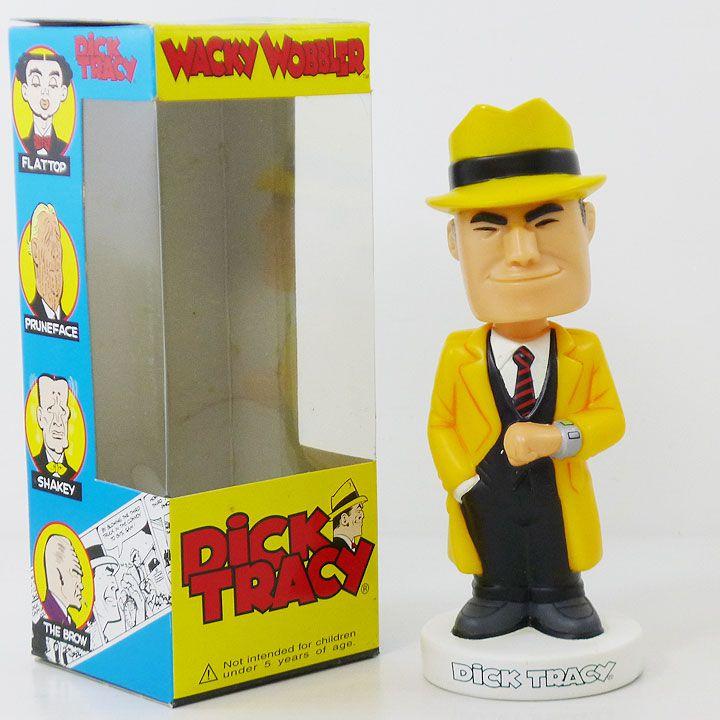 【ファンコ/FUNKO】WACKY WOBBLER『ディック・トレイシー』ワッキーワブラー・dicktracy・アメキャラ・ボビンヘッド・ボビングヘッド・コレクション