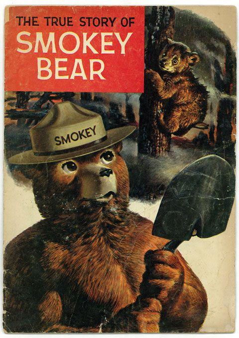 アメリカ コミック雑誌THE TRUE STORY OF『SMOKEY BEAR』スモーキーベア・くま・キャラクター・アメコミ・漫画