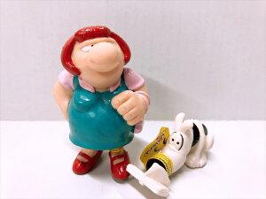 【PLASTOY】PVCフィギュア マダムと犬セットアメキャラ カートゥーン アニメ アメリカ雑貨 アメ雑
