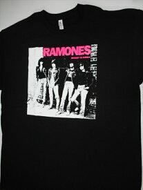 【RAMONES/ラモーンズ】大人Tシャツジャケ写バンド アメリカ雑貨 アメ雑  アメT 音楽 ミュージック