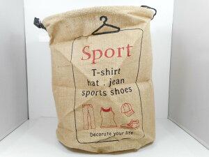 バスケット『SOCKS RED』ランドリー 折り畳み ケース 収納 麻 植木 カバー 靴下 小物入れ ミニサイズ おしゃれ インテリア 新生活 家具 便利 カゴ