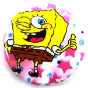 【スポンジボブ/Sponge Bob】 『ピンバッチ Lサイズ【I/左】』アメキャラ アメリカン雑貨 アメリカ雑貨 アメ雑