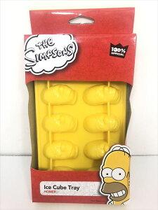 【 シンプソンズ Simpsons 】『 アイスキューブトレイ ice cube tray 』氷 製氷機 シリコン キッチン用品 homer 正規品 キャラクター かわいい 可愛い コレクション コレクター アイス ドリンク 飲み