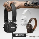 Marshall マーシャル MAJOR3 ヘッドホン【国内正規品】【送料無料】