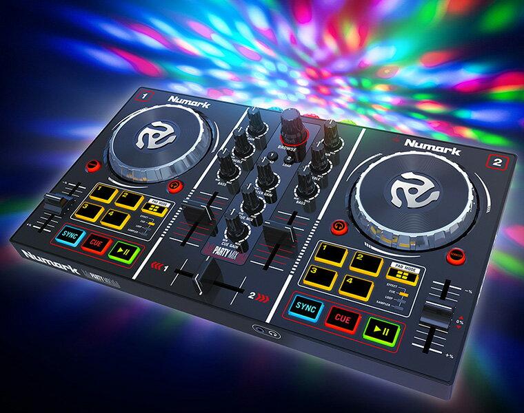 NUMARK DJコントローラー/PartyMix【DZONE店】