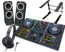 NUMARK DJコントローラーセット/PartyMix + ATH-S100 + Z200 + PCスタンド【送料無料】【DZONE店】