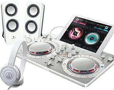 【選べる特典付き】PIONEER DJコントローラーセット/DDJ-WeGO4WH + Z200WH + ATH-S100【送料無料】