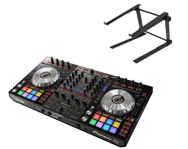 PIONEER DJコントローラー/DDJ-SX3 + PCスタンド【送料無料】