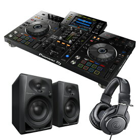 PIONEER 2chオールインワンDJシステム DJセット XDJ-RX2 + ヘッドホン ATH-M20x + スピーカー DM-40-K rekordbox【送料無料】【DZONE店】